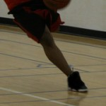 Solicitation cheville basketball