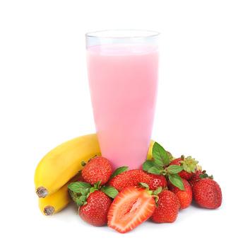smoothie et fruits frais